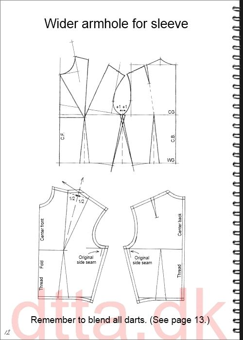 SYSTEM DTTA: PAGE 12 | Tailoring - patternmaking, cutting and sewing | THE DESIGN AND TECHNICAL TAILORING ACADEMY | TILSKÆRERAKADEMIET I KØBENHAVN (KBH)