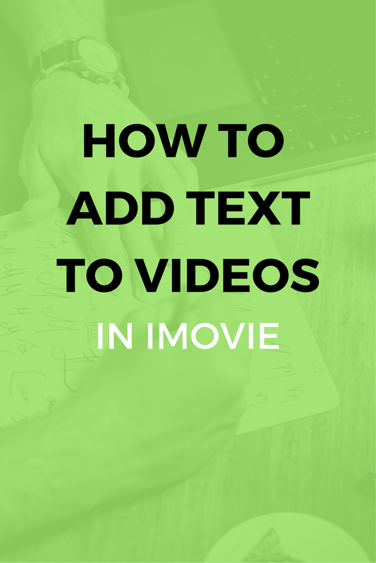 How To Add Subtitles In Imovie 11 10 9 8 Ads Video Marketing Social Media Content