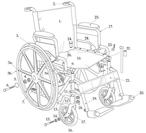 Replacement Arm Wheelchair Pad Size Desk Length -- Clicking on the image will lead you to find similar product
