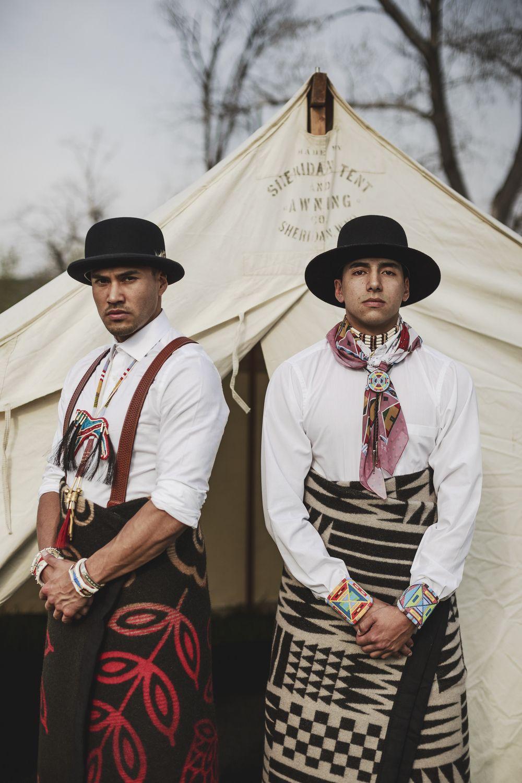B.Yellowtail Fashion Designs Represent Authentic Native