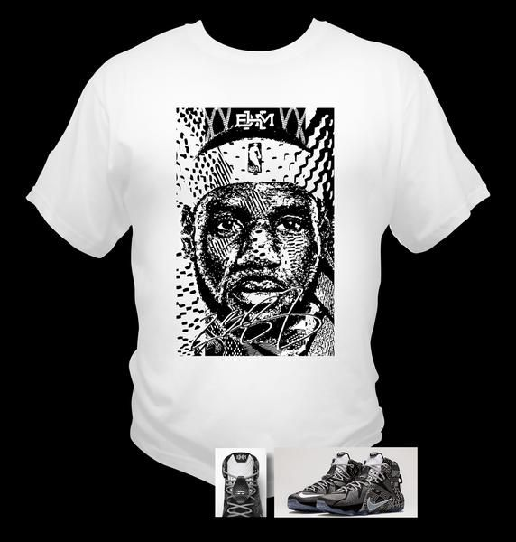 History Bhm Black To James Made Lebron T 12 Shirt Match Theme Month TE6XYw