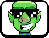 Pin By Mistah Sandman On Clash Royale Goblin Emotes Clash Royale Mario Characters Character