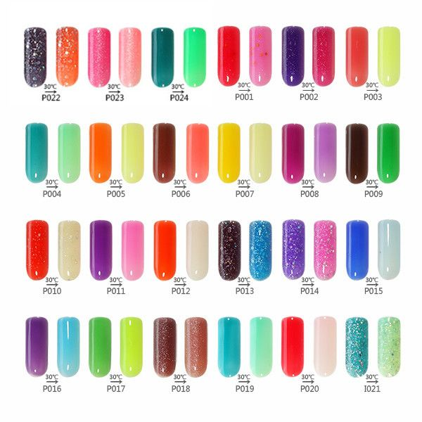 Nail Polish Chart: Changeable Color From R S Nail Color Chart