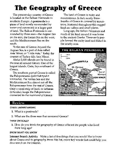 Ancient Greece Worksheets Homeschooling Pinterest Ancient