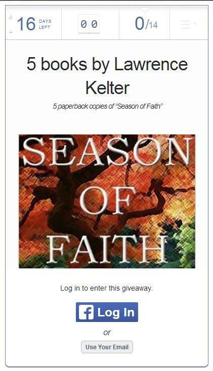 rafflecopter, season of faith