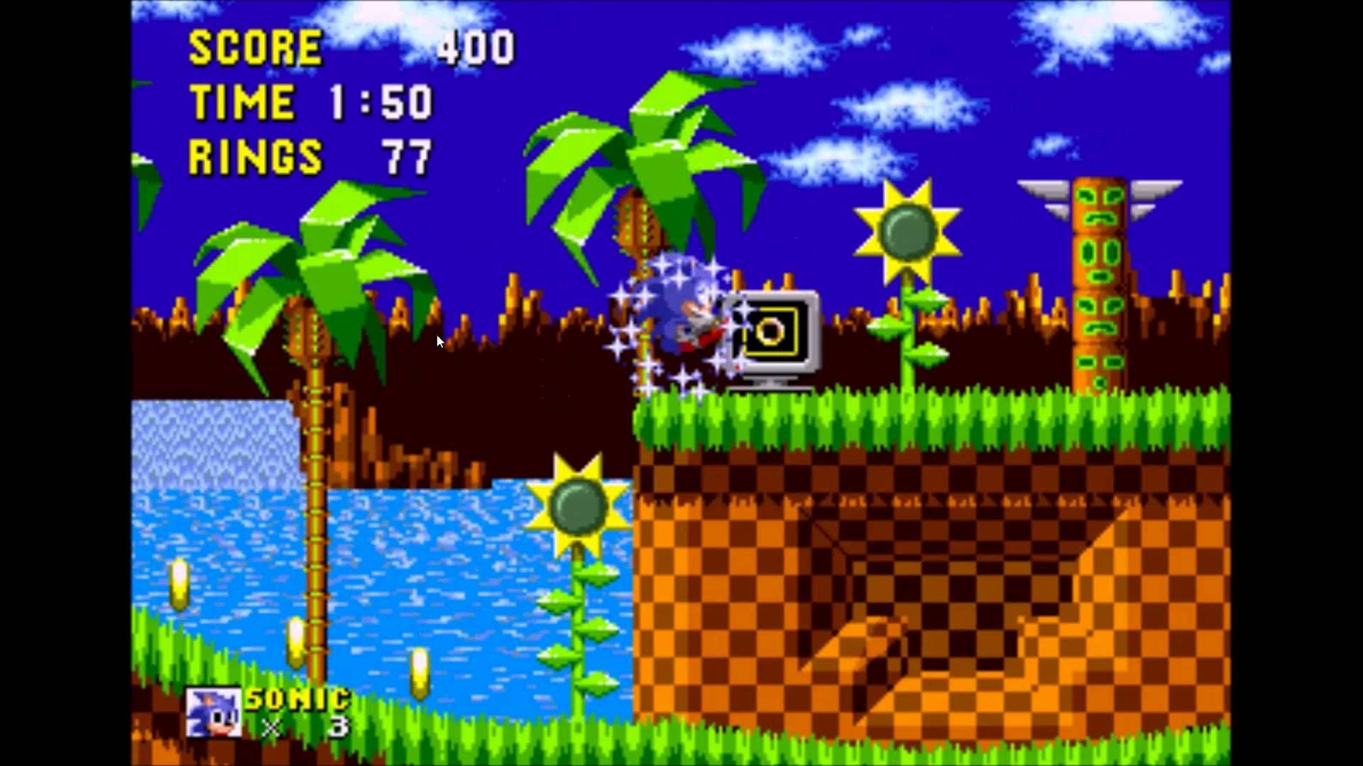 Sega Genesis Sonic The Hedgehog Gameplay 1 Sega Genesis Game Themes Sonic The Hedgehog