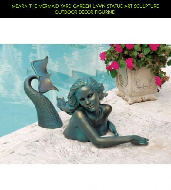 Meara The Mermaid Yard Garden Lawn Statue Art Sculpture Outdoor Decor  Figurine #drone #fpv