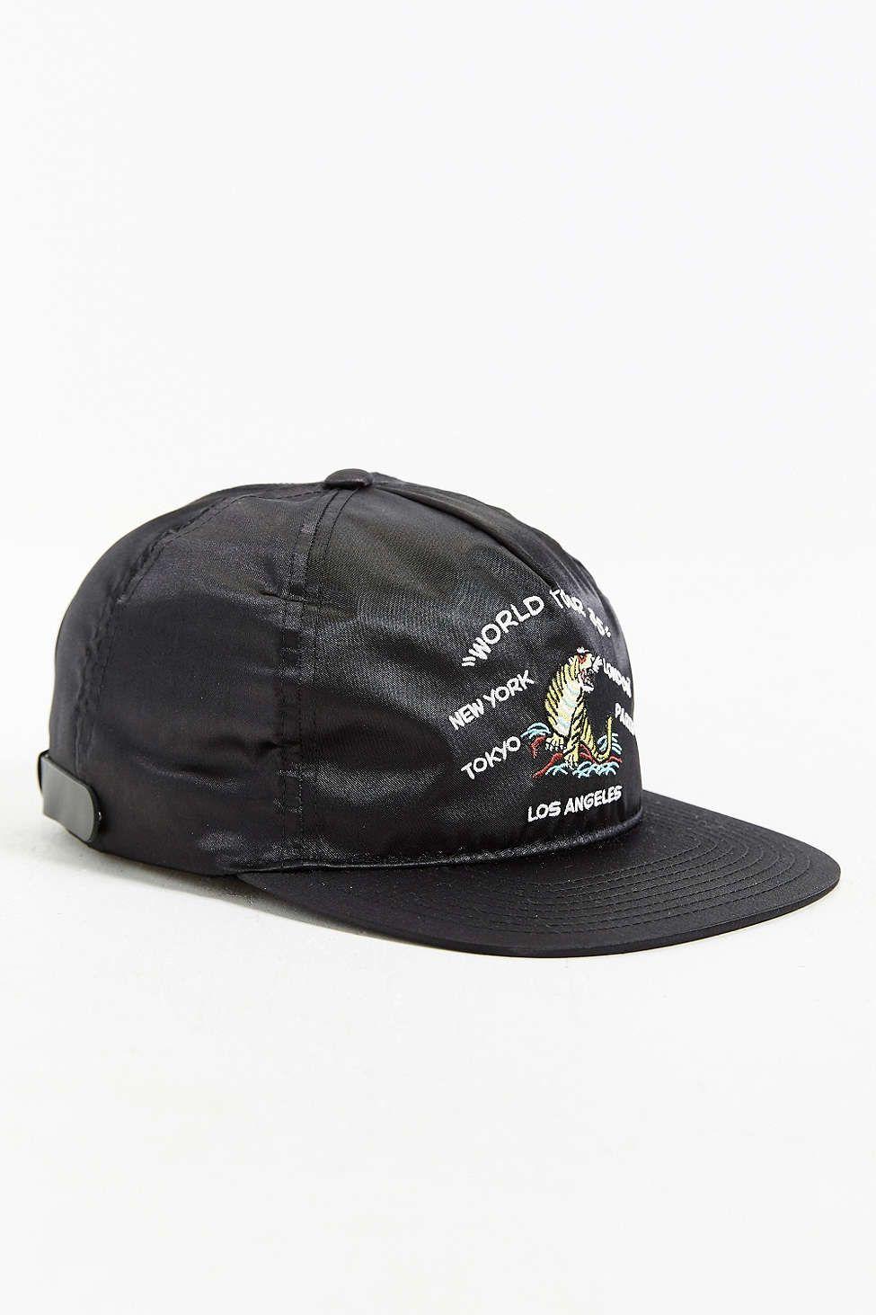 Stussy Satin Strapback Hat Strapback Hats Stussy Hats
