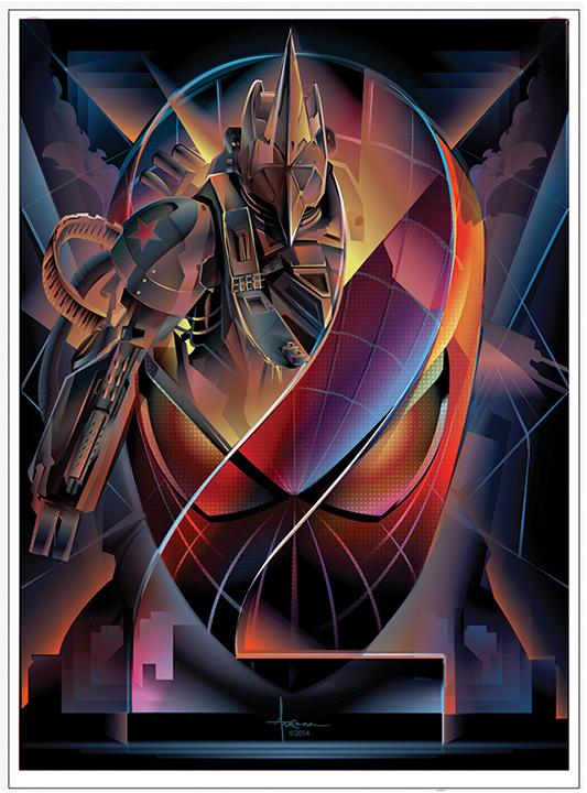 SPIDER-MAN 2: RHINO  Vector Tribute and CONTEST by Orlando Arocena, via Behance
