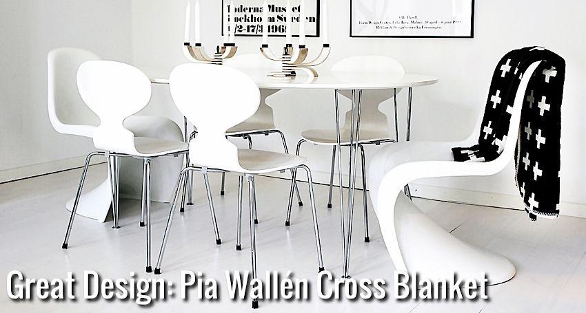 Great Design: Pia Wallén Cross Blanket | Nordic Days