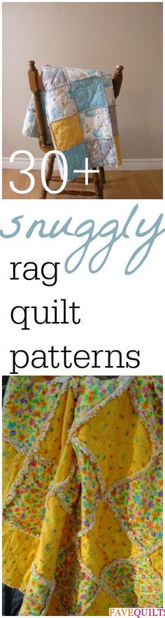 35 Snuggly Free Rag Quilt Patterns Rag Quilt Patterns And Free