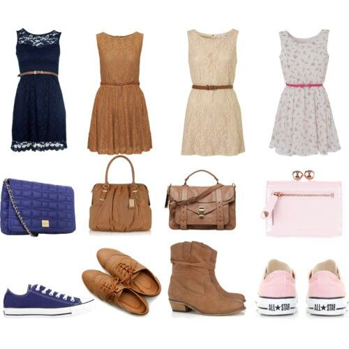 Cute Dress Ideas With Shoes Converse Or Boots ❤ | Outfits ...