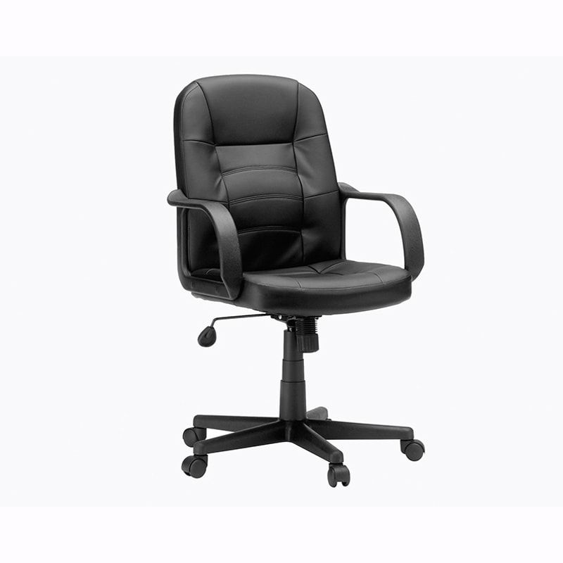 Sauder Gruga Chairs Collection Leather Managers Chair- Black | PCRichard.com | 417882