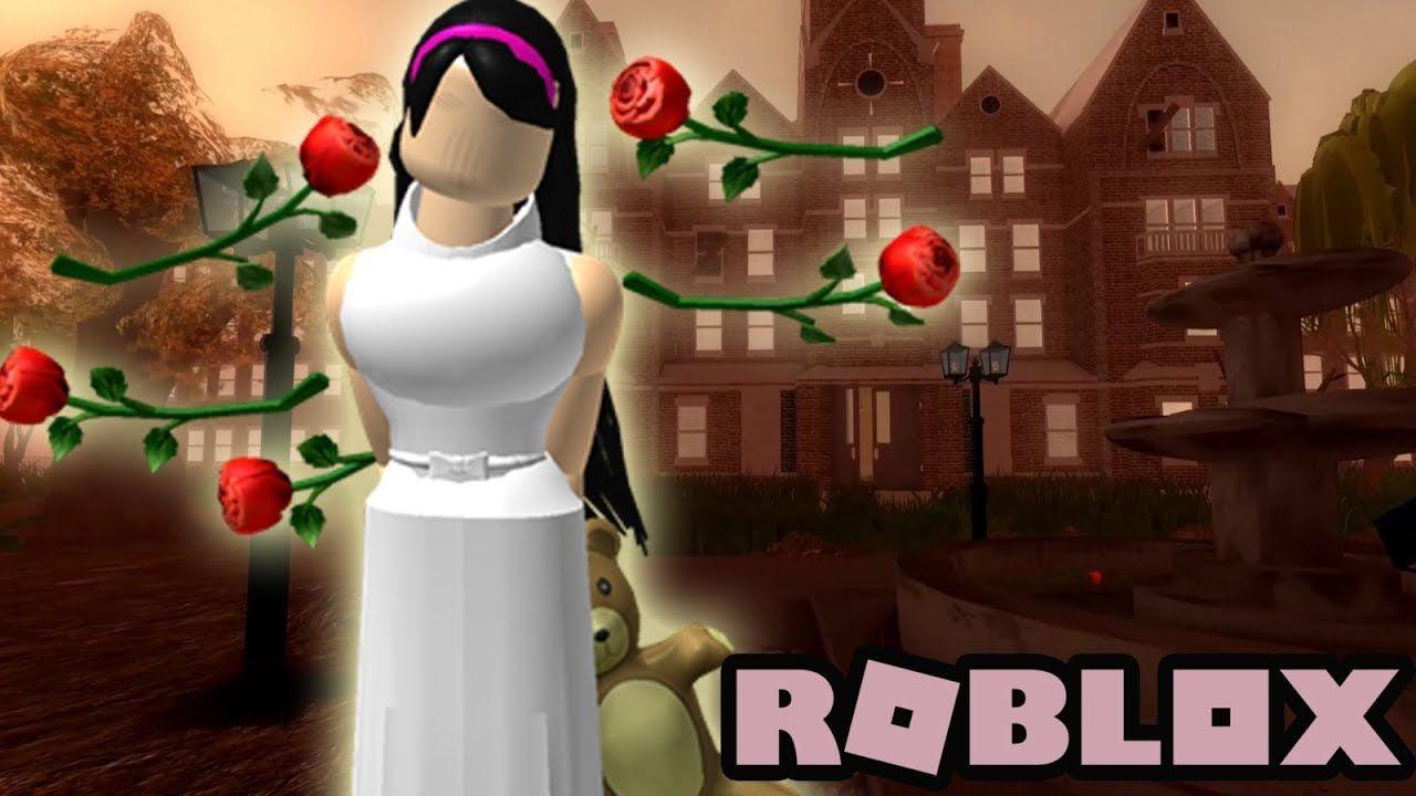Roblox Roses Scary Haunted Mental Asylum Horror Game Horror