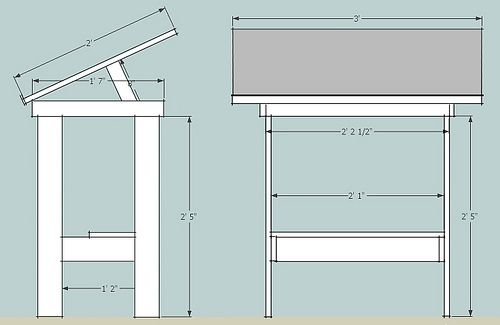 Drafting Table Final Drafting Table Architect Table Architect Office Workspace