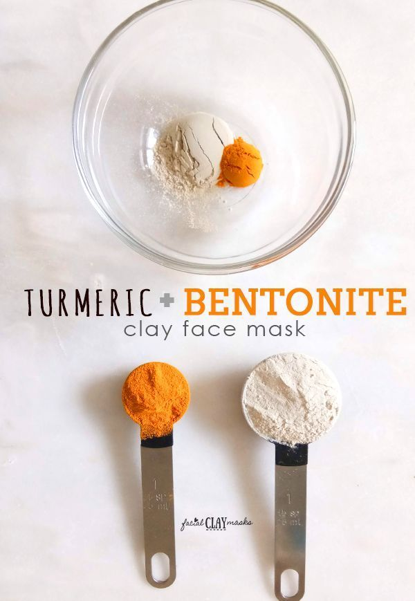 Bentonite Turmeric Face Mask  Turmeric is amazing for your skin for fighting acne and adding a beautiful glow to your skin Not a