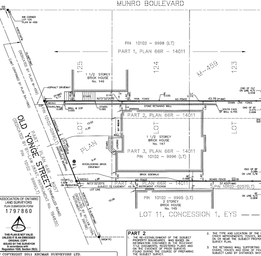 How to read a land survey plan (SRPR): an interactive guide