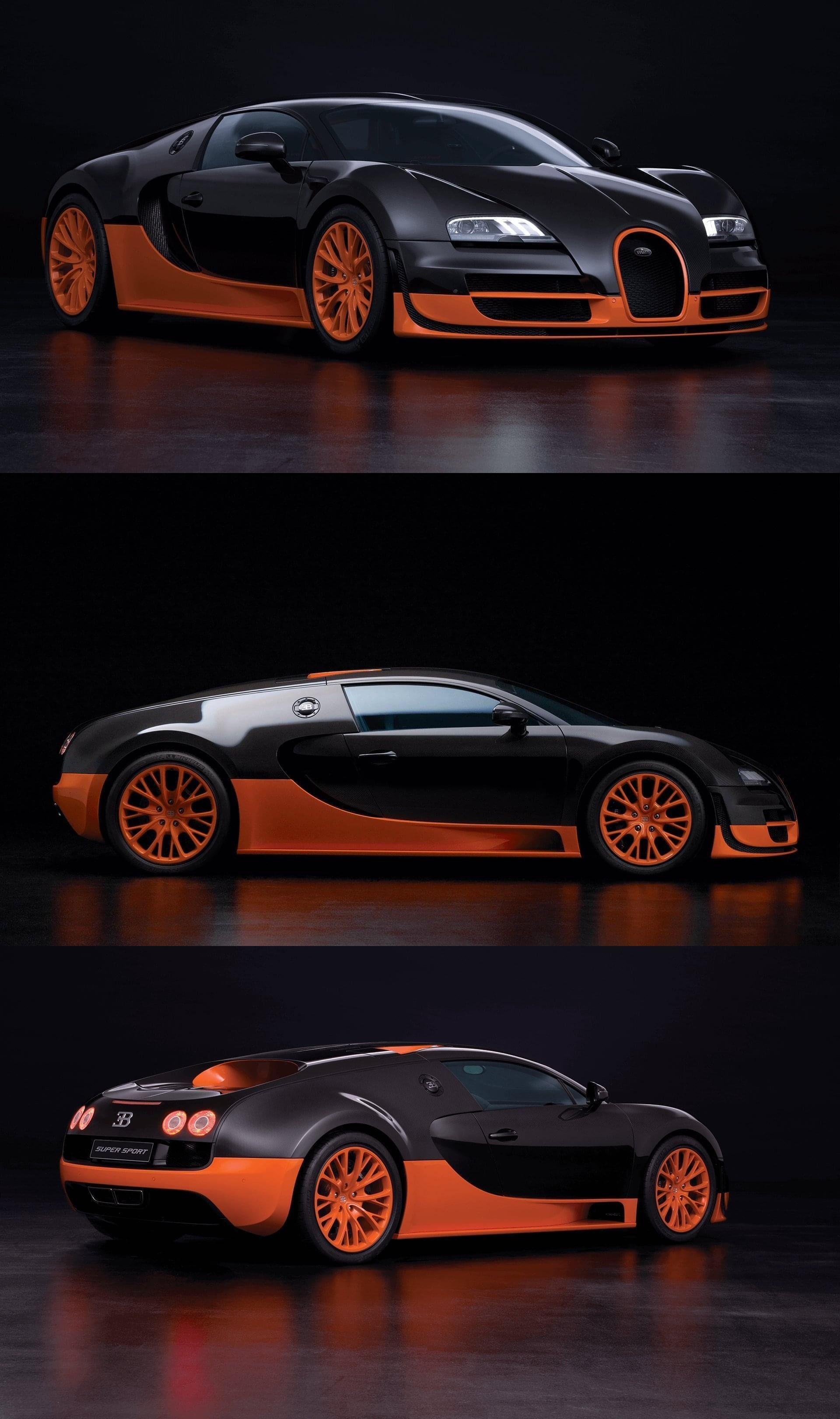 Model Power Mileage Safety Colors Bugatti Veyron Super Sport