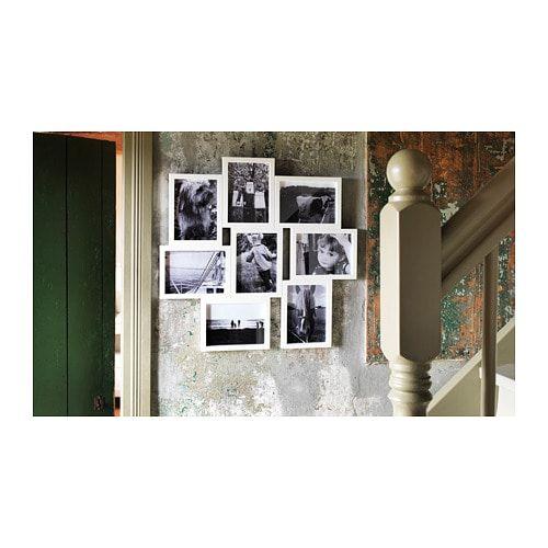 ВЭКСБУ Рама для коллажа на 8 фото - белый 13x18 см | Рамки ...