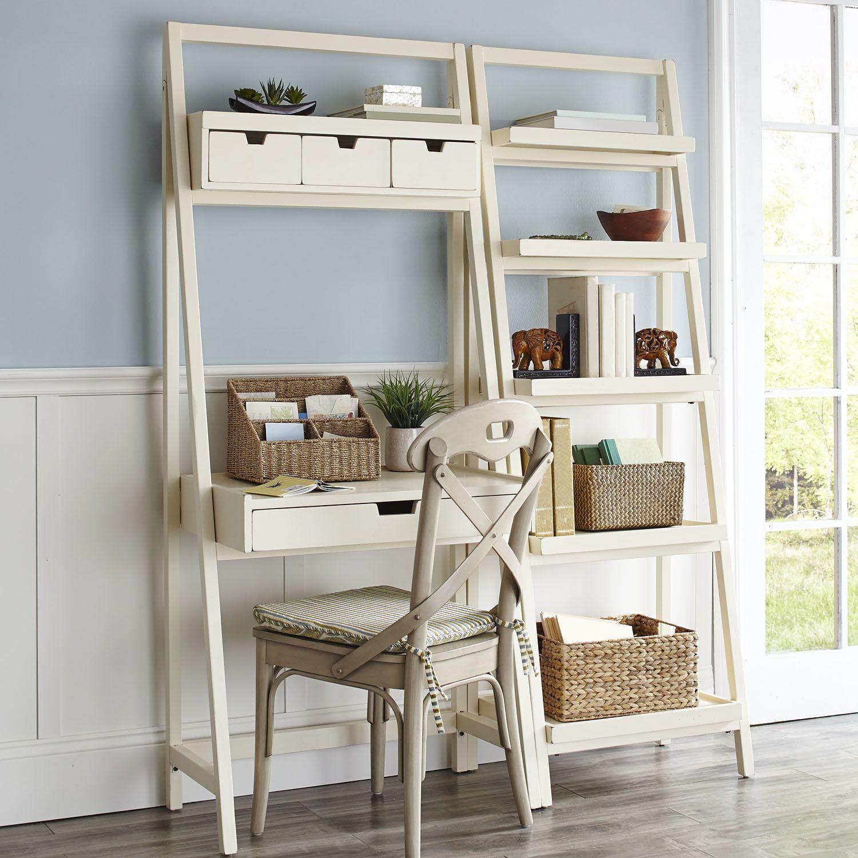Morgan Desk Antique White Pier 1 Imports 349 Ladder Shelf