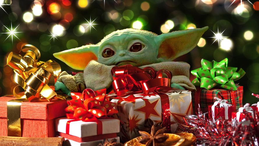 Pretty Sure Mariah Carey Was Thinking Of Babyyoda When She Recorded All I Want For Christmas Is You Mandalorian St With Images Christmas Toys Christmas Memes Yoda