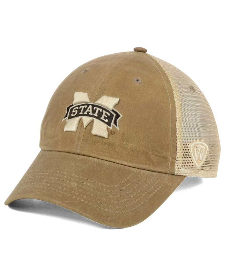 brand new b570a 8f514 Top of the World Mississippi State Bulldogs Mudd 2 Tone Mesh Cap