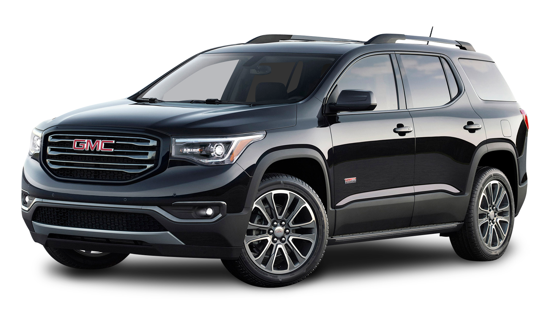 Black Gmc Acadia All Terrain Car Png Image Gmc Suv Car