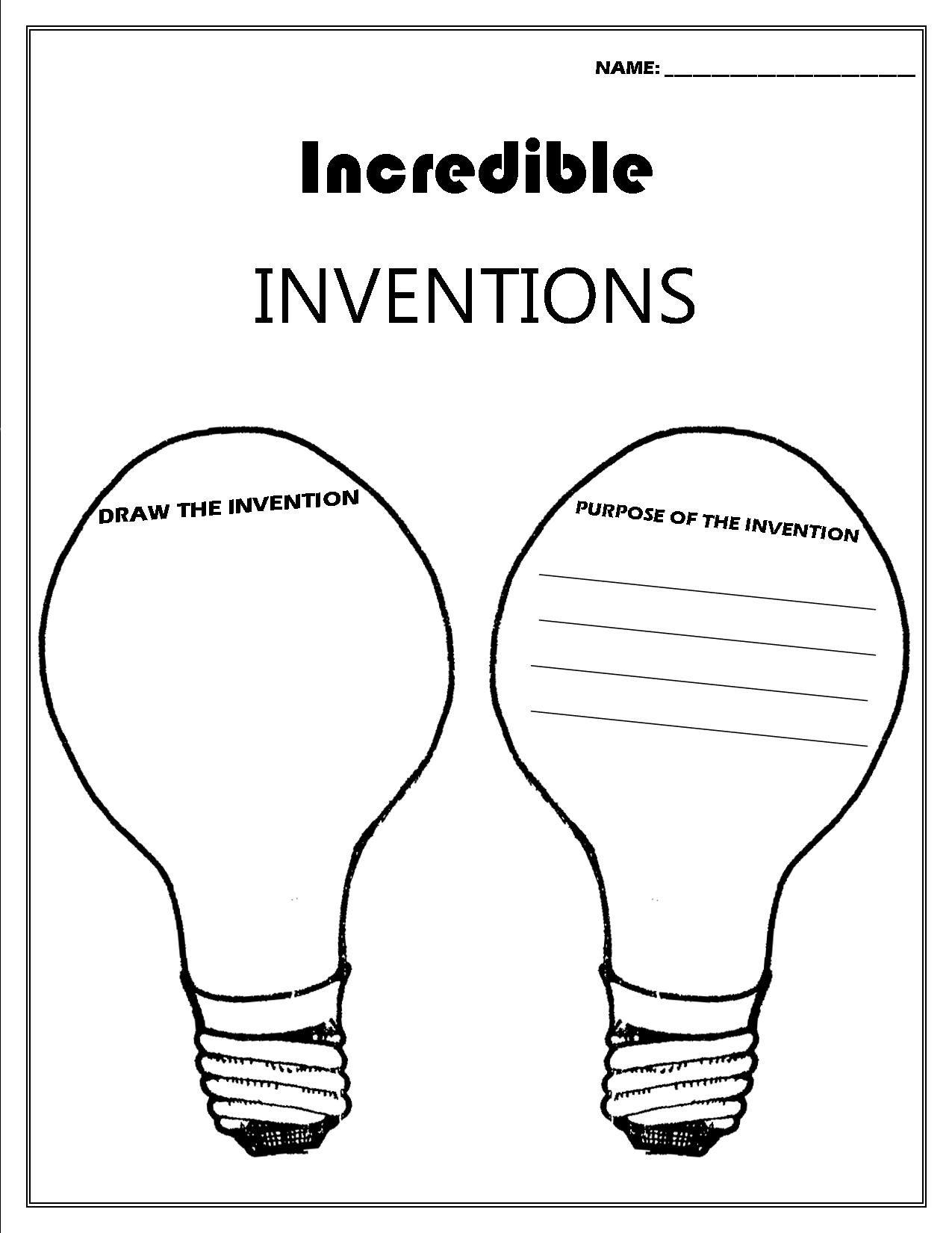 Uncategorized Benjamin Franklin Worksheets inventor convention worksheet printable worksheets pinterest worksheet