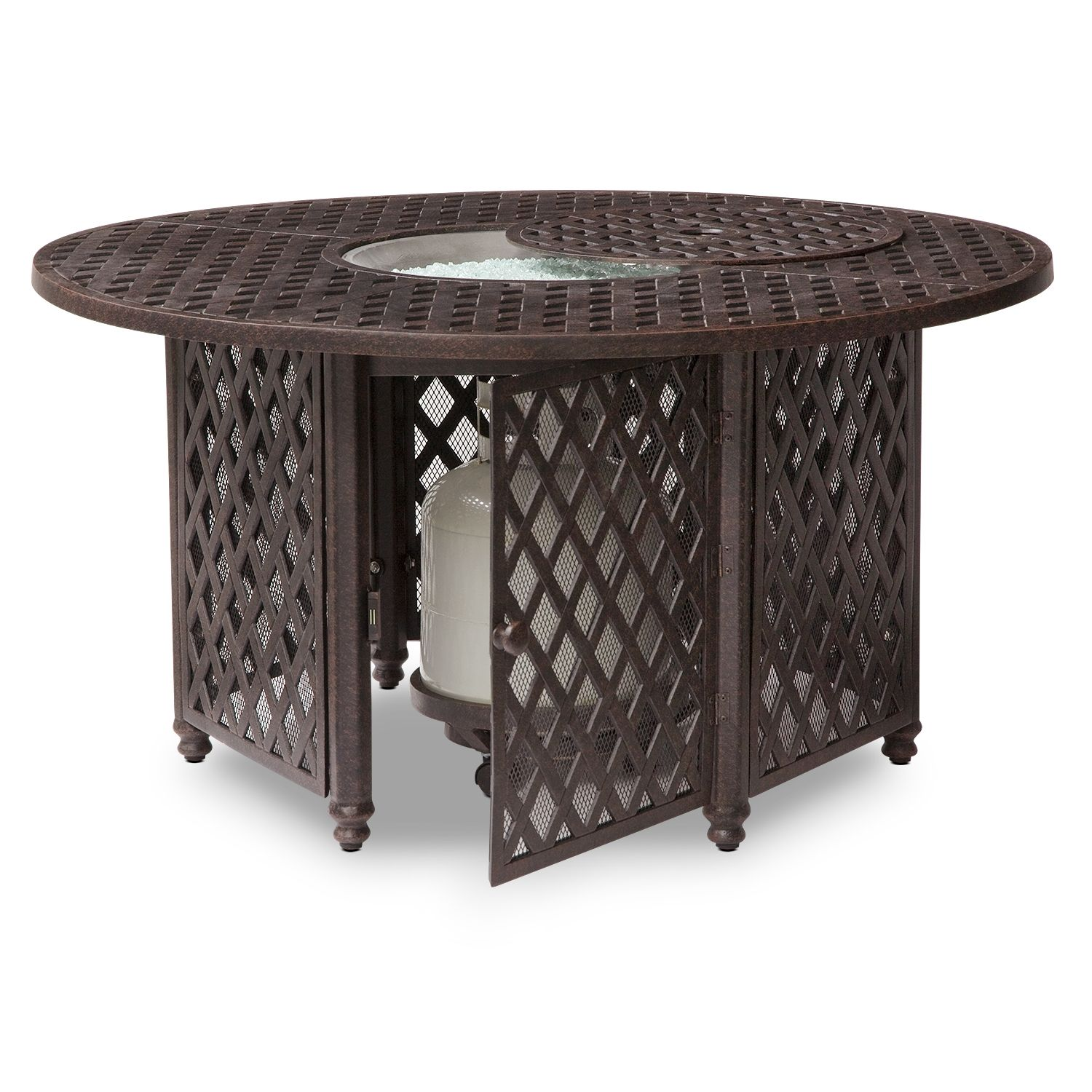 City furniture - Who Doesn't Want A Firepit???? Lattice Firepit Value City