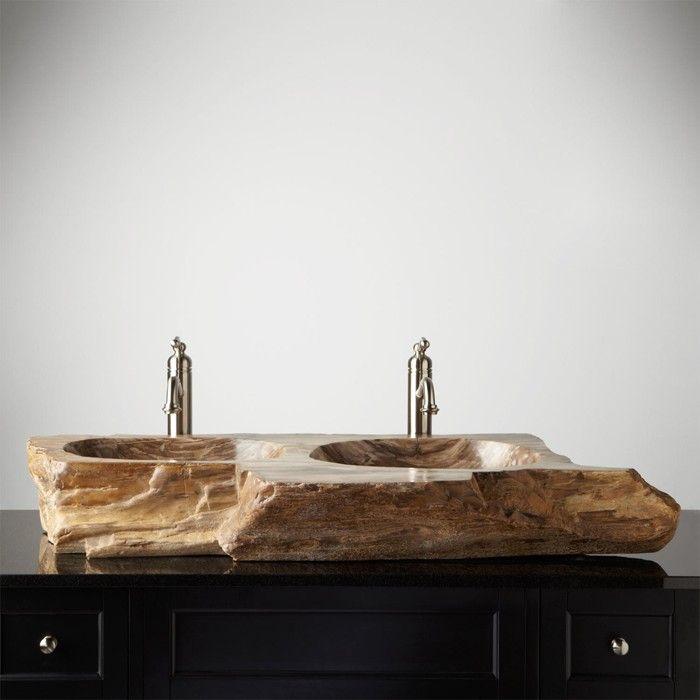 Anders Denken 29 Badezimmer Ideen Mit Holzwaschbecken Badezimmer Waschbecken Badezimmer Holzwaschtisch