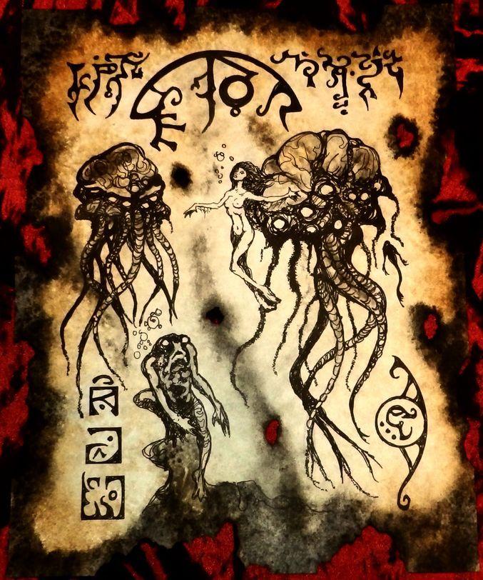 Secret Lore of the Deep III by MrZarono.deviantart.com on @DeviantArt