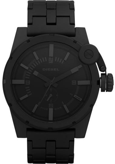 5c3a59f12 Matte Black Diesel Watch. | Watches | Diesel watch, Watches for men ...