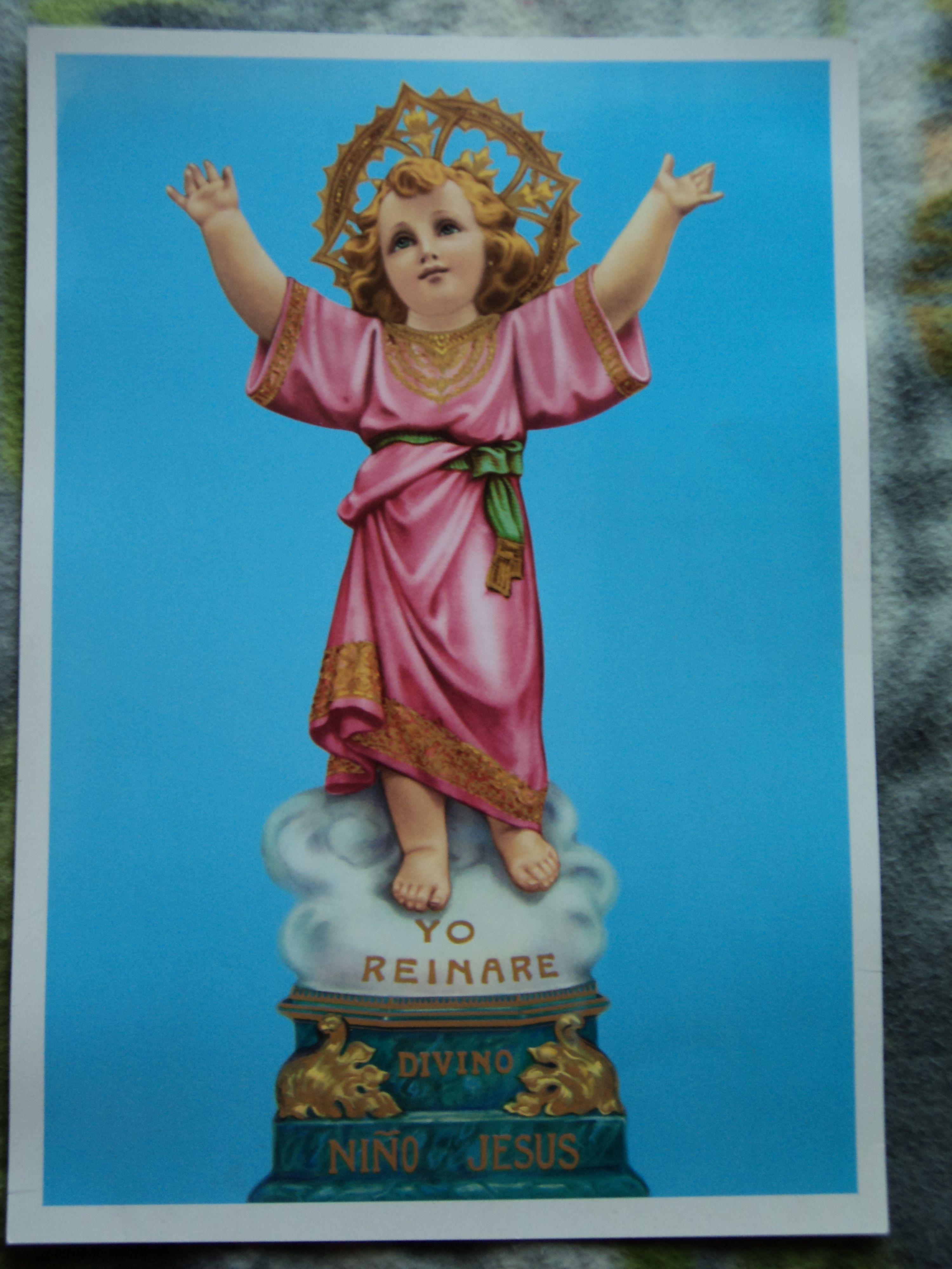 la vitela del Milagroso Divino Niño Jesús