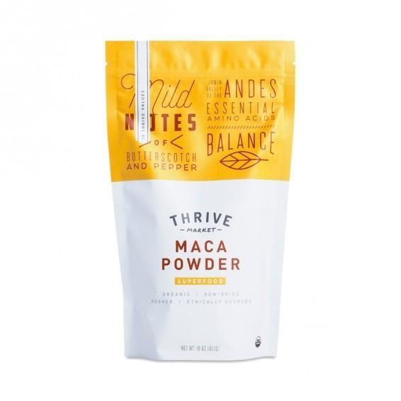 Organic Maca Powder www.theteelieblog.com This Andean superfood has been used in traditional healing for thousands of years. Found in the pristine Junín valley in Peru, 14,000 feet above sea level, maca is known to naturally support the body's ability to adapt to stress and improve energy, vitality, and stamina. This sun-dried powder is a great addition to smoothies, cereals, elixirs, and desserts for balanced energy. #thrivemarket
