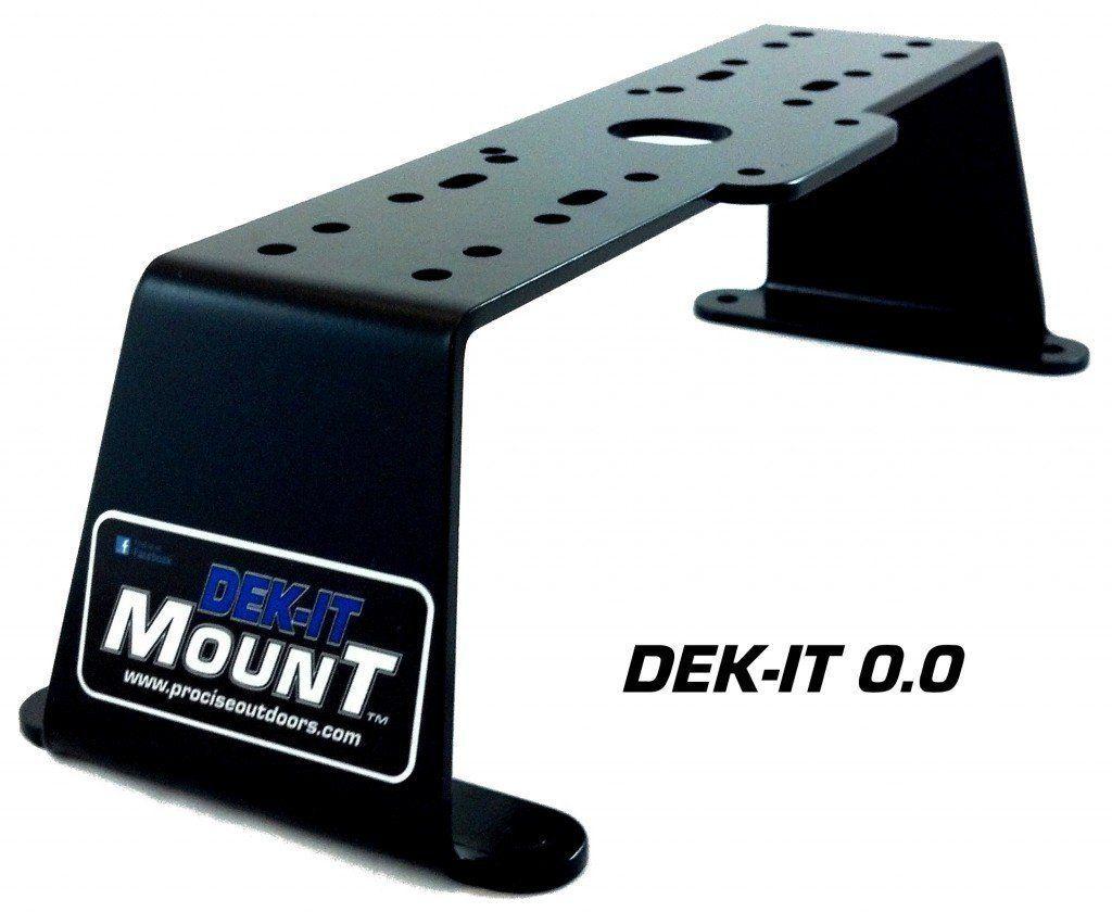 Dek-it Boat Fish Finder GPS Electronics Mount, Most Solid