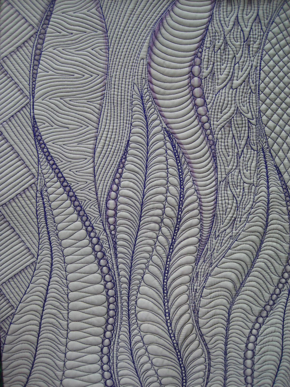 Quilt To The Edge 2012 Free Motion Quilting Challenge