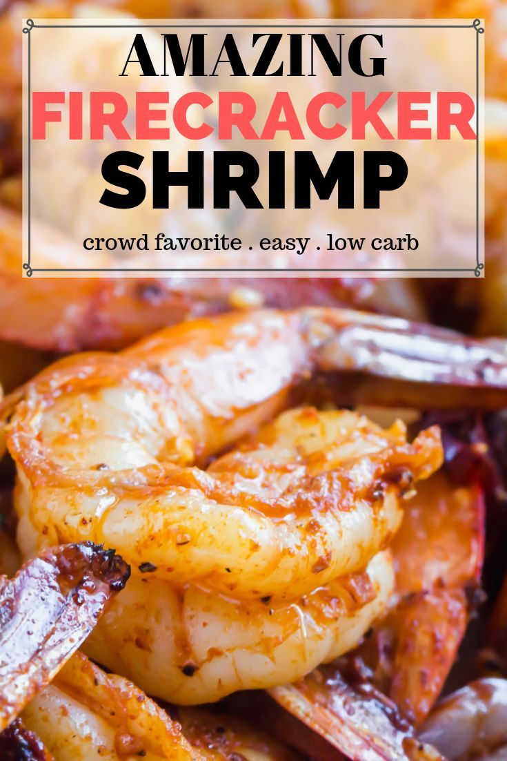 Firecracker Shrimp Recipe - This is a crowd pleasing meal you can make on the grill. Spicy and juicy shrimp for your next BBQ. Keto approved and easy to make. www.ketofocus.com #shrimprecipes #firecrackershrimp