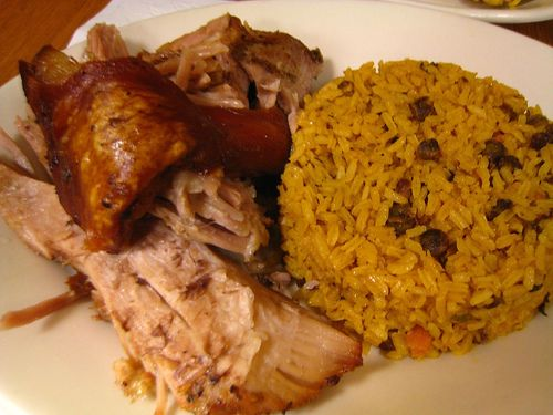 every PRican knows what this is #arroz con gandules | Food, Arroz con  gandules, Hispanic food