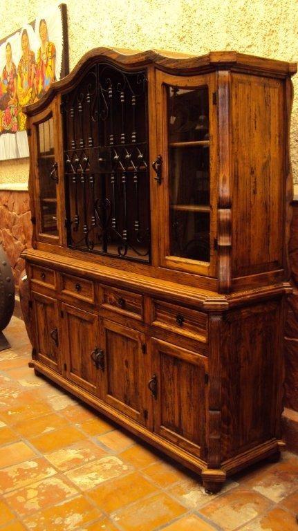 Trinchador Rustico Con Herreria Muebles Rusticos Muebles Rusticos Mexicanos Muebles