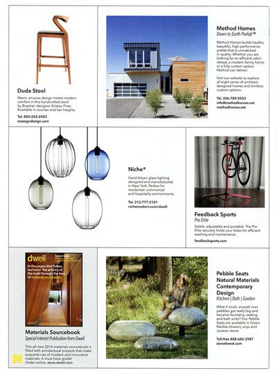 Dwell Magazine S Modern Design Market Includes Modern Pendant