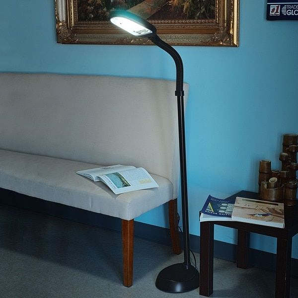 Full Spectrum Pure Sunlight Reading and Crafting Floor Lamp by ...