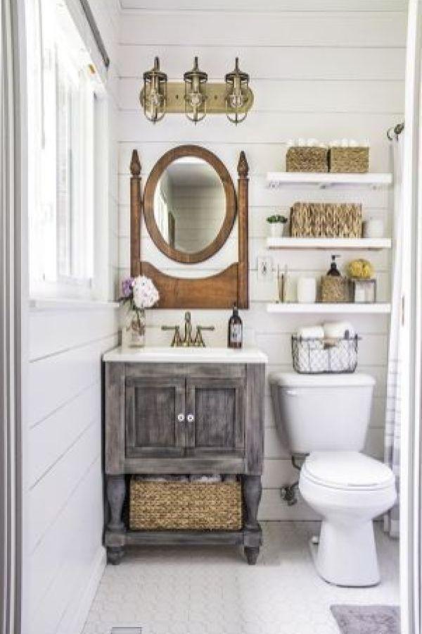 Perfect Supreme Farmhouse Bathroom Decor Ideas 8 Bathroom Perfect Supreme Farmhouse Bathroom Decor Ideas 8 Rustic Bathroom Vanities Bathroom Styling Small Rustic Bathrooms