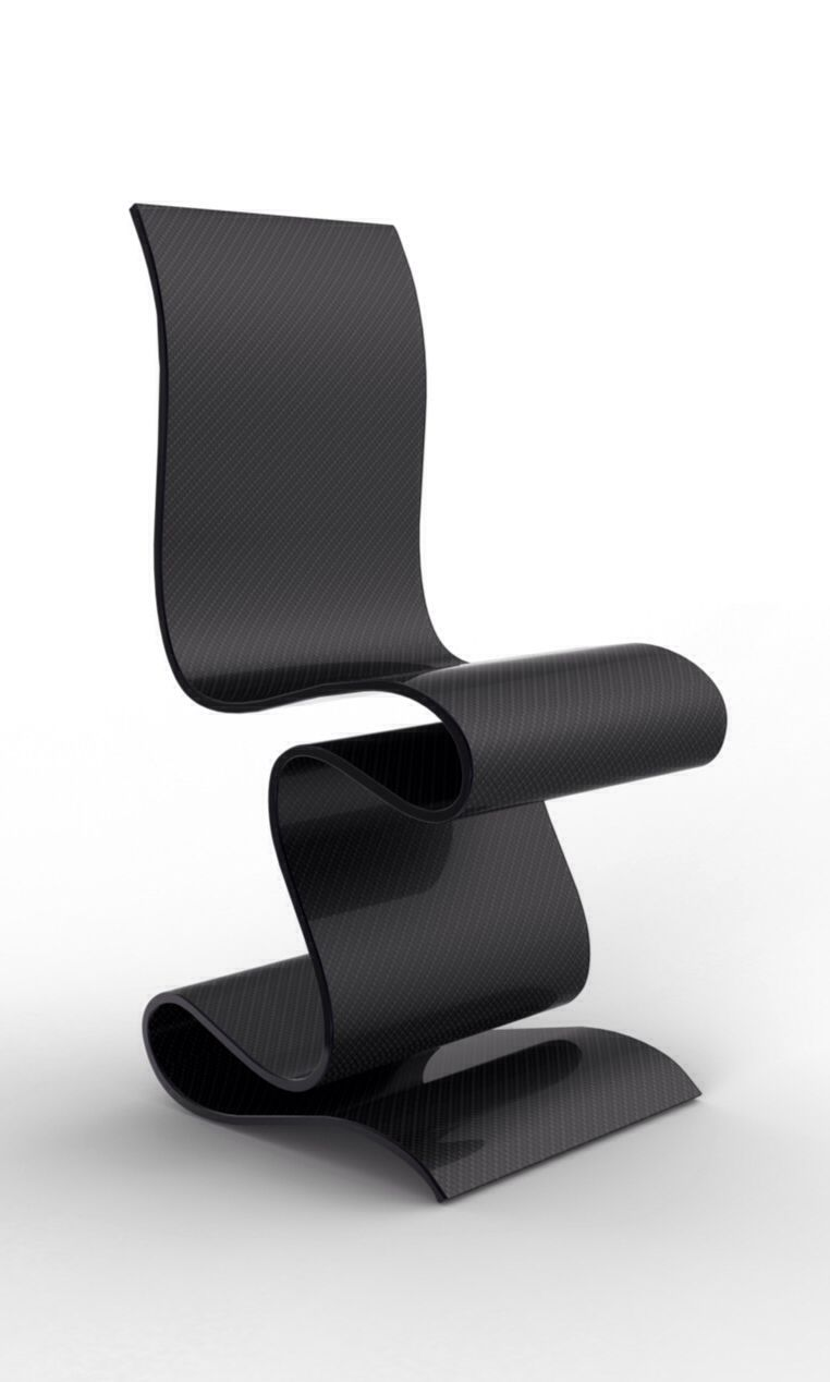 Sculpture Carbon Chair By Ventury Lab Limited To 6 2 Artist  # Muebles Fibra De Carbono