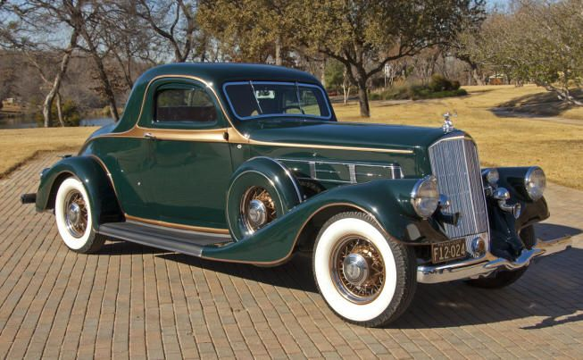 1935 Pierce Arrow 8 845 Coupe Pierce Arrow Motor Car Company Buffalo New York 1901 1938 Classic Cars Vintage Cars Retro Cars