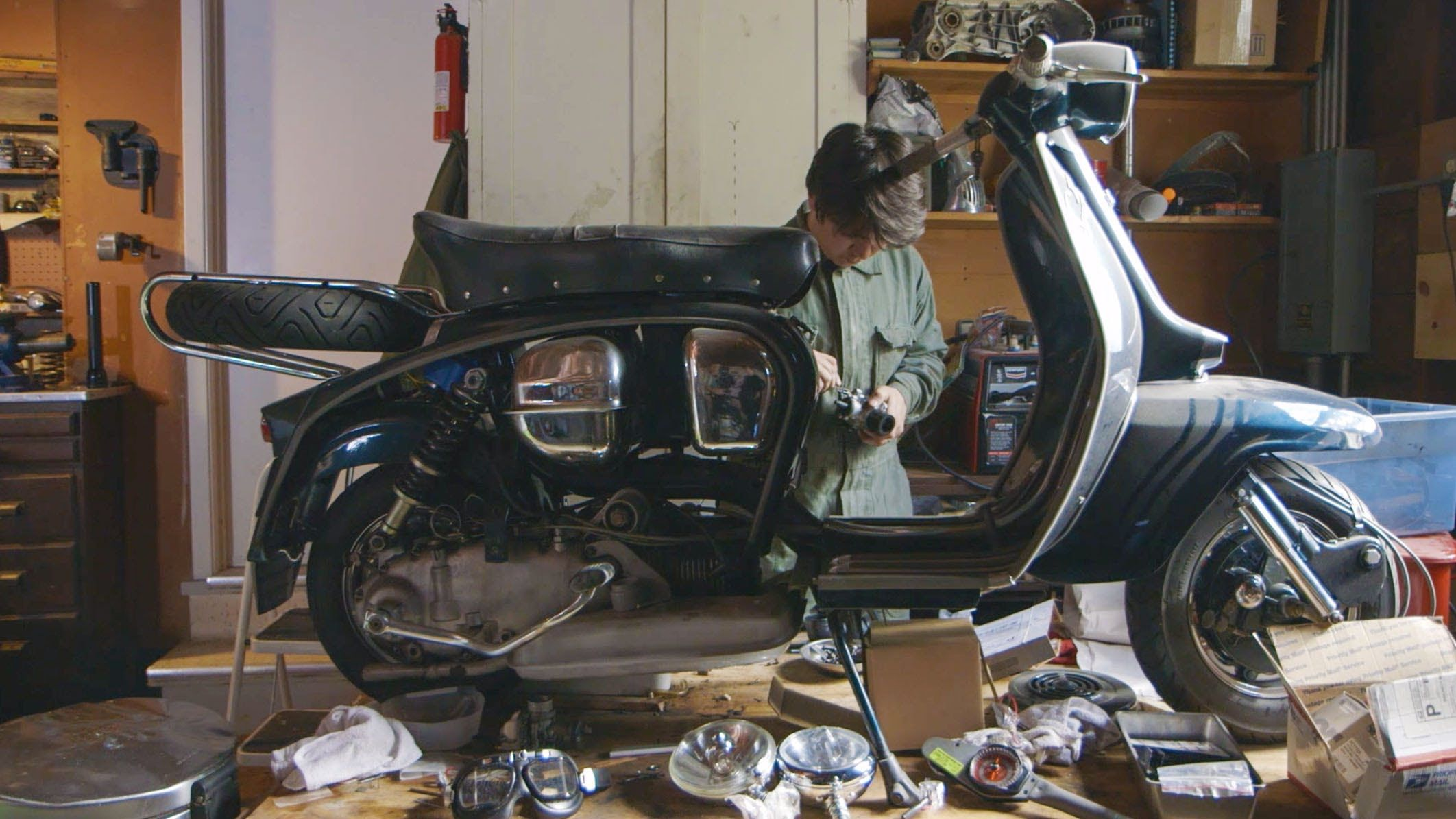 Pinner Portrait: Watch Brandon give new life to old rides   Places ...