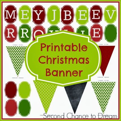 photo relating to Happy Holidays Banner Printable known as Free of charge Printables Printables Xmas banners, Free of charge
