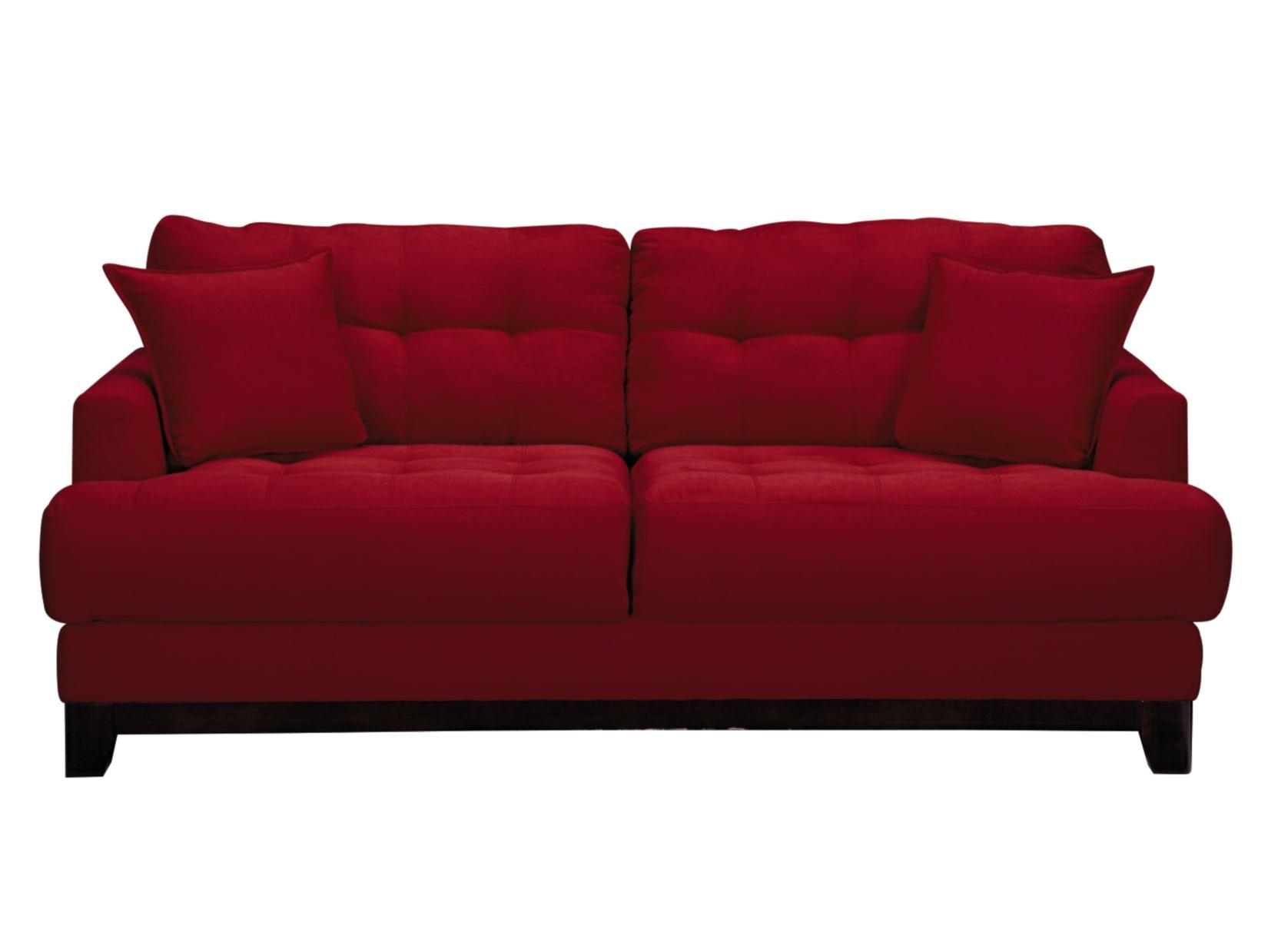 Calypso Red Sofa American Signature Furniture