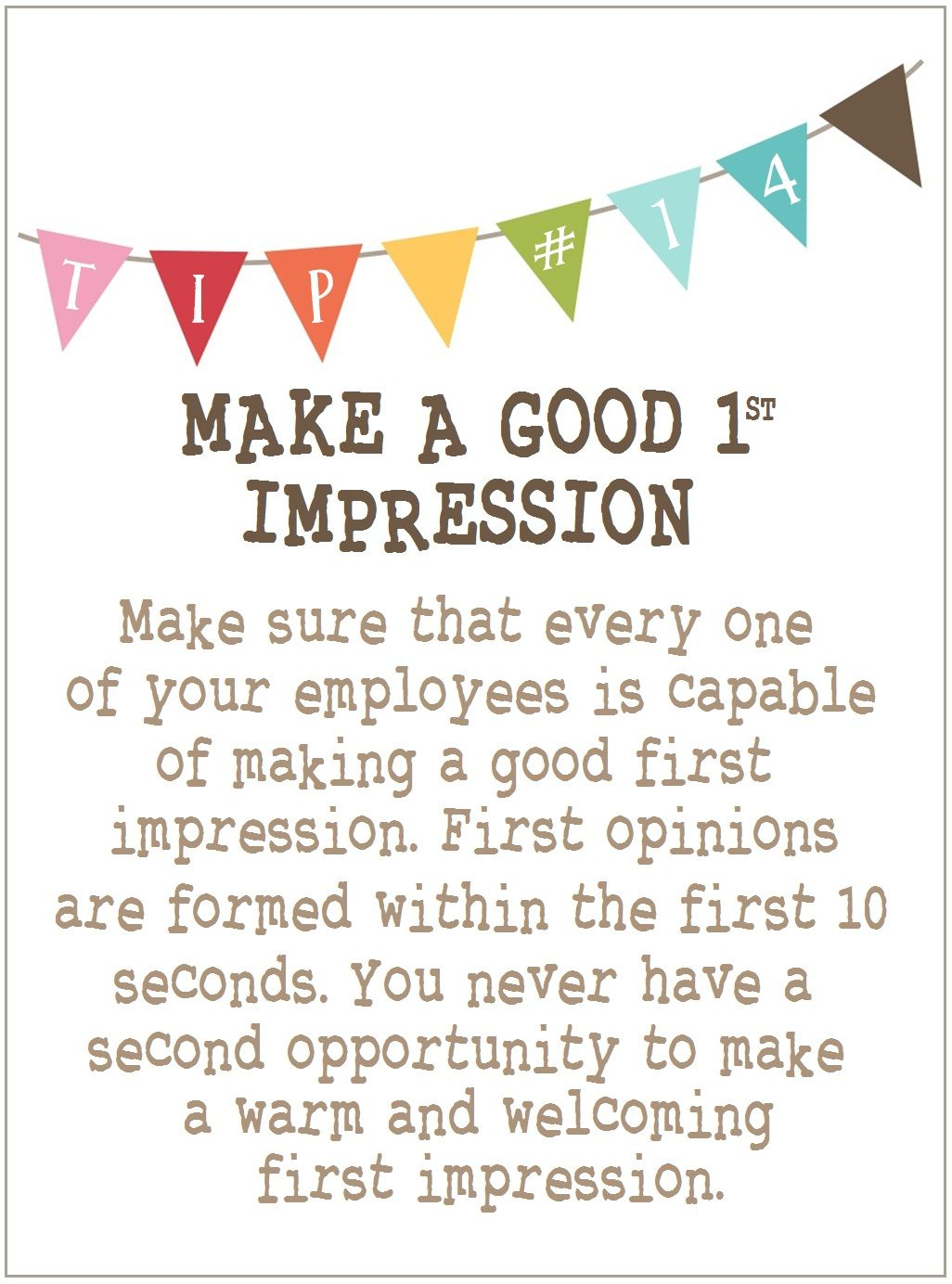 14 [MAKE A GOOD FIRST IMPRESSION] Customer Care Pinterest