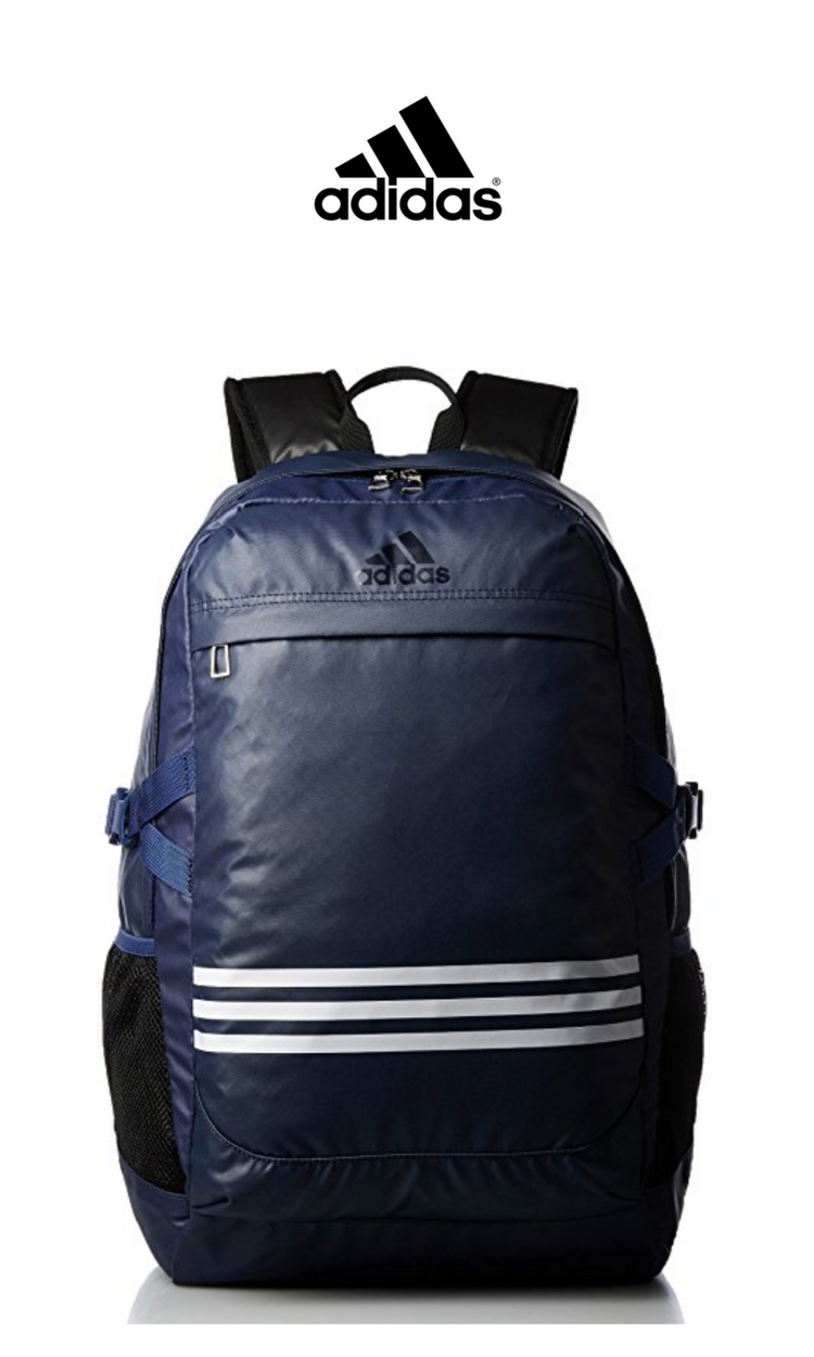 aee71335c Adidas - Three Striped Backpack | Blue | Click for Price and More | Adidas  Apparel | Backpack Ideas For Men | Adidas Fashion | Backpack Fashion |  Everyday ...
