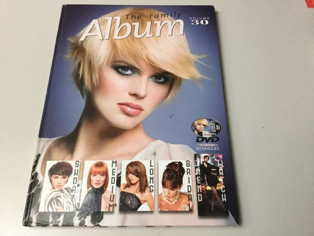 The Family Album Volume 30 Hairstyle Hair Cut Book For Salon No Dvd